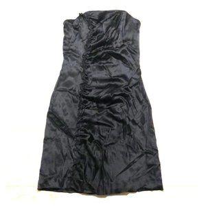 Silk Dress Black
